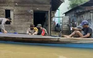 Musibah Banjir Masih Mengancam Sejumlah Kecamatan ini di Kotim