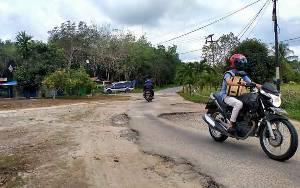 Lima Jalan Dalam Kota Kuala Kurun akan Segara Diperbaiki