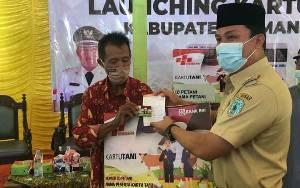 Resmi Diluncurkan di Lamandau, Kartu Tani untuk Memudahkan Petani Dapatkan Pupuk Bersubsidi
