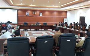 DPRD Kapuas Harap Pembahasan KUA PPAS 2021 Bersama Eksekutif Tepat Waktu