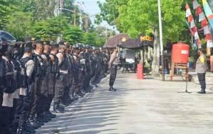Dirsamapta Polda Kalteng Ingatkan Anggota Tetap Siaga dan Waspa