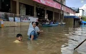 Desa Hanjalipan Mulai Banjir, 425 KK Terdampak