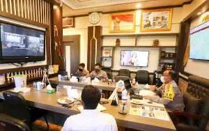 Kapolda Kalteng Ikuti Deklarasi Pilkada Damai Secara Virtual