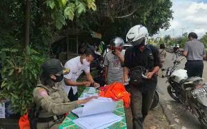Penegakan Perbup Prokes di Lamandau Digencarakan, 56 Warga Tak Bermasker Terjaring