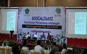 Kemenag Kalteng Sosialisasikan Undang-Undang Penyelenggaraan Haji dan Umrah