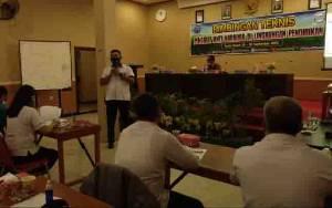 Satresnarkoba Polres Gunung Mas Sosilisasikan Pencegahan Peredaran Narkoba ke Tenaga Pendidik
