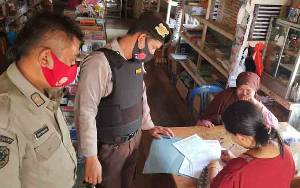 Tim Gabugnan di Seruyan Hulu Gencarkan Operasi Yustisi