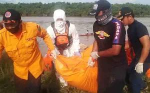 2 Hari Pencarian, Jasad Koki Tugboat Tenggelam di Sungai Kahayan Akhirnya Ditemukan