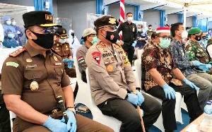 Plt Gubernur Kalteng Bersama FKPD Hadiri Bakti Kesehatan di Muara Teweh