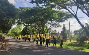 Jaga Kebugaran, Personel Polres Seruyan Rutin Olahraga
