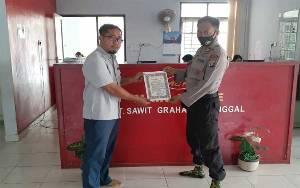 Polsek Dusun Tengah Patroli Kamtibmas untuk Cegah Mogok Kerja Buruh