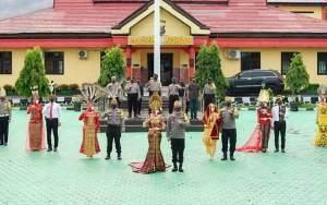 Peringati HUT ke 61 Kobar, Polres Kobar dan Bhayangkari Usung Tema Nusantara