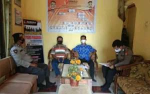 Anggota Polsek Basarang Lakukan Patroli ke Sekretariat Panwascam