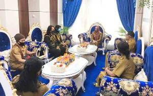 Wakil Wali Kota Palangka Rata Terima Audensi Duta Genre