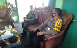 Kapolres Seruyan Berikan Kejutan di HUT TNI ke 75