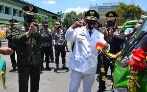 Plt Gubernur Kalteng Bersama Danrem dan Kapolda Luncurkan Program Komos