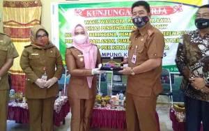 Wakil Wali Kota Palangka Raya Kunjungi Kampung KB di Kelurahan Tanah Mas