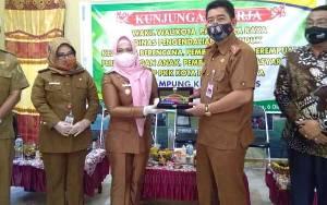 Wakil Wali Kota Palangka Raya Kunjungi Kampung KB Di Tanah Mas Kotim