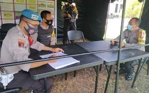 Wakapolres Seruyan Cek Pengamanan Kantor KPU Seruyan