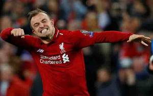 Xherdan Shaqiri Tambah Daftar Pemain Liverpool Positif Covid-19