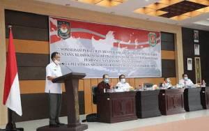 Bupati Katingan Buka Sosialisasi Permendagri Nomor 90 Tahun 2019