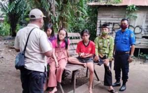 Dinas Sosial, Satpol PP dan Polsek Dusun Timur Tangani Anak Punk