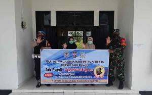 TNI-Polri di Kecamatan Hanau Kompak Sosialisasikan Saber Pungli