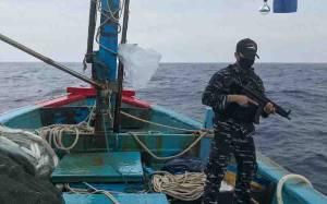 TNI AL Tangkap Kapal Vietnam Lakukan Illegal Fishing di Natuna Utara