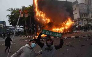 Ini Postingan Admin STM Jabodetabek Dinilai Menghasut Rusuh di Demo Omnibus Law