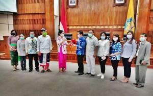 Anggota Komisi II DPRD Kalteng Kunjungan Kerja ke Bali
