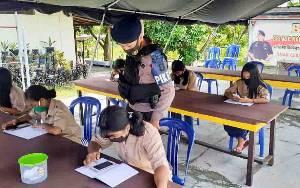 Satbrimob Polda Kalteng Laksanakan Program BRAIN untuk Cerdaskan Anak Bangsa