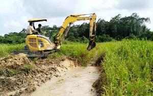 Pembangunan Jaringan Irigasi di Tiga Kecamatan Dikerjakan Swakelola