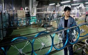 Sepeda Naik Daun, Keuntungan Produsen di Cina Rp 10,4 Triliun
