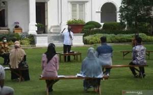 Presiden: Tingkat Kesembuhan Pasien Covid-19 di Indonesia Naik