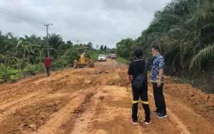 Perbaikan Jalan Desa Batu Kotam Dilaksanakan Secara Konsorsium