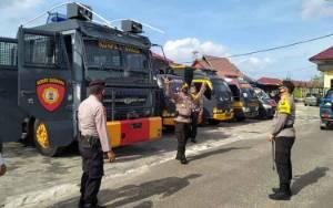 Polres Seruyan Cek Kelengkapan Sarpras untuk Antisipasi Aksi Unjuk Rasa
