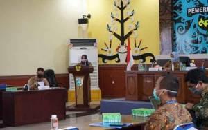 Wakil Wali Kota Palangka Raya Pimpin Rakor Terbatas TPID