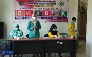 Pemerintah Kecamatan Bataguh Gelar PosBindu-PTM