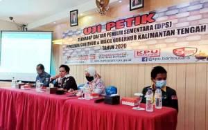 KPU Barito Utara Lakukan Uji Petik DPS Pilkada Kalteng