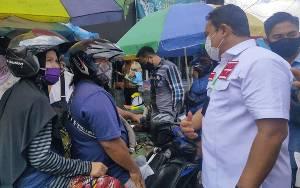 Edy Pratowo Kunjungi Pasar Besar Palangka Raya Dengarkan Aspirasi Masyarakat