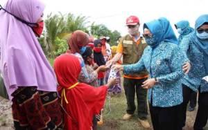Ketua TP PKK Seruyan Ajak Emak-emak Disiplin Terapkan Protokol Kesehatan