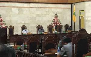 DPRD Kapuas Gelar Rapat Paripurna Penyampaian Pembentukan Raperda Daftar Usulan Kumulatif