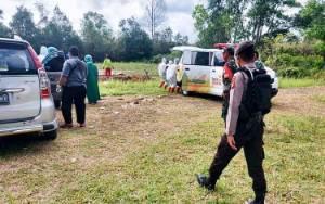 Tim URC Satgas Penanganan Covid-19 Kota Palangka Raya Dampingi Proses Pemakaman Pasien Positif