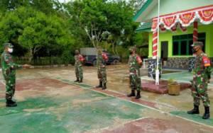 Danramil Kurun Tekankan Babinsa Harus Tanggap Terhadap Perkembangan Situasi Wilayah Binaan