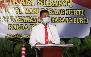 Aplikasi Sibakti Polda Kalteng Satu-satunya di Indonesia