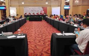 KPU Kalteng Gelar Rapat Pleno Rekapitulasi DPT Pilkada