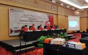 KPU Kalteng Tetapkan DPT Pilkada 2020 1.698.449 Pemilih