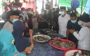 Blusukan di Pasar Saik Nanga Bulik, Ini Doa Warga untuk Sugianto Sabran