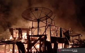 Polisi Ungkap Penyebab Kebakaran Rumah Betang