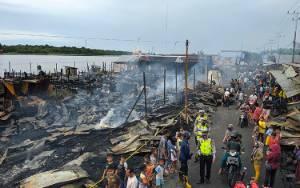 Ini Jumlah Kios dan Rumah yang Terbakar di Pasar Sejumput